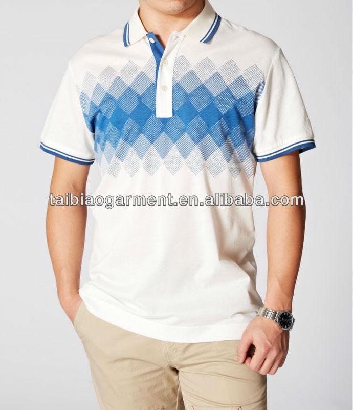 OEM high quality custom logos new design polo shirt men
