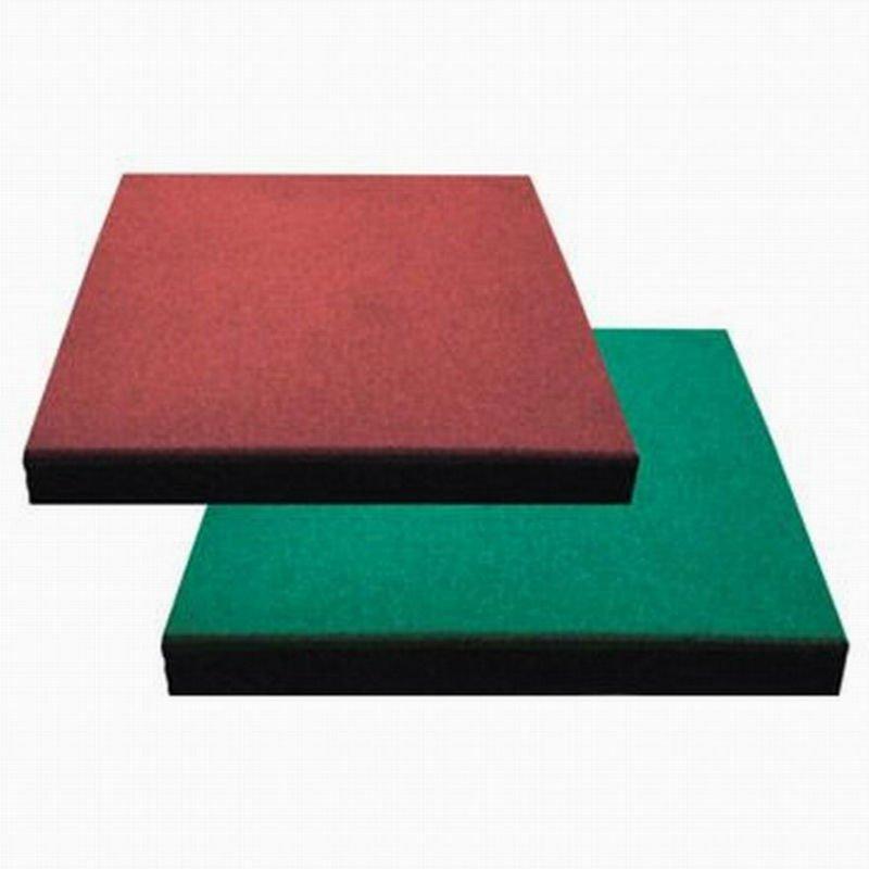 Удобные ( шланг-epdm ) резиновые напольные / 50 см x 50 см или 100 см x 100 см