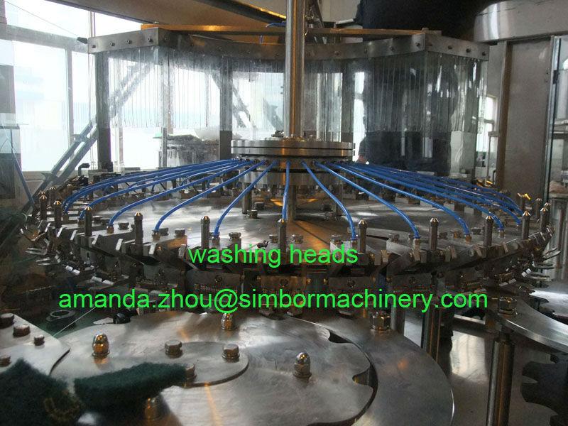 automatic glass bottle spanish red wine filling machine