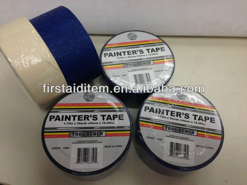 china factory painter's decorative paper masking tape