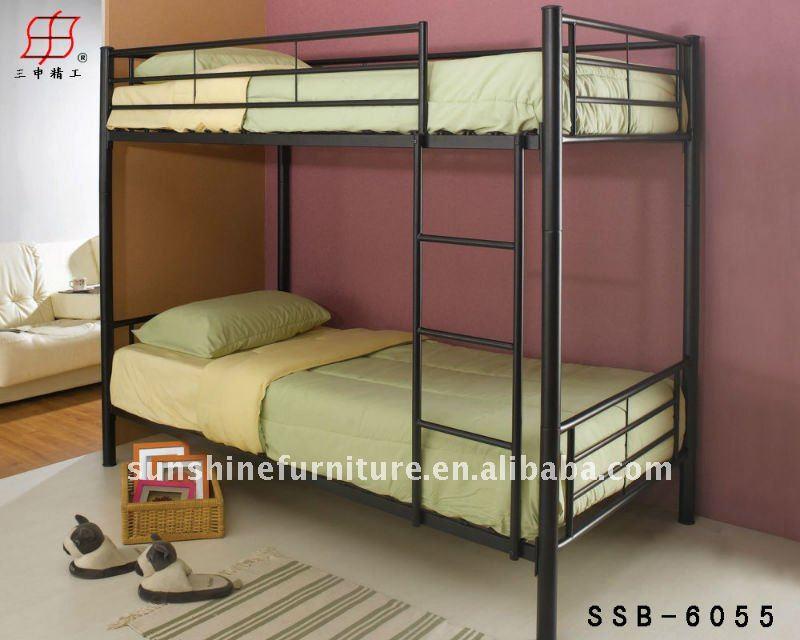 adult metal frame double bunk beds, View modern bunk beds, Sunshine ...