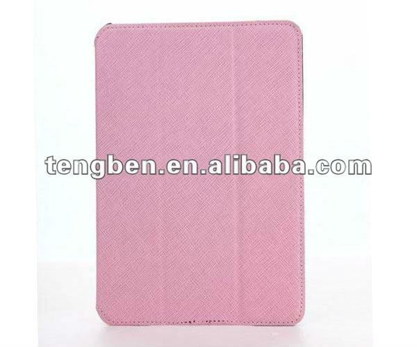 Newest elegant design silicone case for mini ipad with top quality PU material