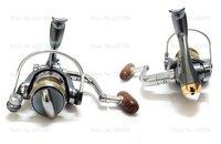 Катушка для удочки fishing reels 100% new metal 10+1 Ball bearing spinning reels 5.1:1 fishing tackle TEB100