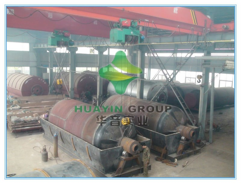 2013 newest design waste tire pyrolysis