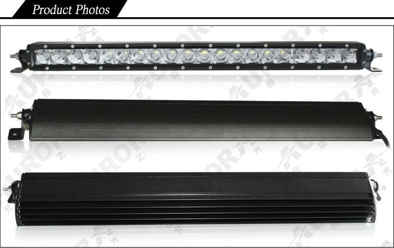 20 inch single row off road light bar led automotive bar vehicle