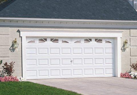 sectional garage door opener