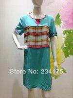 Новые прибытия весной осенью милый женский 100 хлопок сна костюм женщин девушка пижамы пижамы большой плюс размер гостиной 1