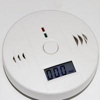 Товары для пожарной безопасности Home security Smoke Detector Fire LCD CO Gas Sensor WaringG