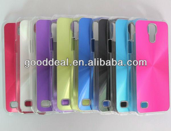 New Luxury Brushed Metal Aluminum Hard Case For Samsung S4 mini