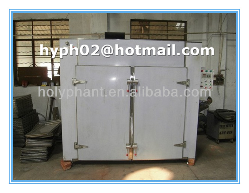 Stainless steel industrial hot air vegetable and fruit dehydrator