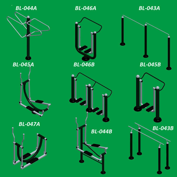 China Manufacturer Elliptical Crossfit Outdoor Fitness Equipment Gym Equipment for Park Body Building
