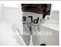 Брюки для девочек Children Girl Boy Clothing Autumn Spring Cute Cotton Sport Trousers Pants one pack 4 pieces