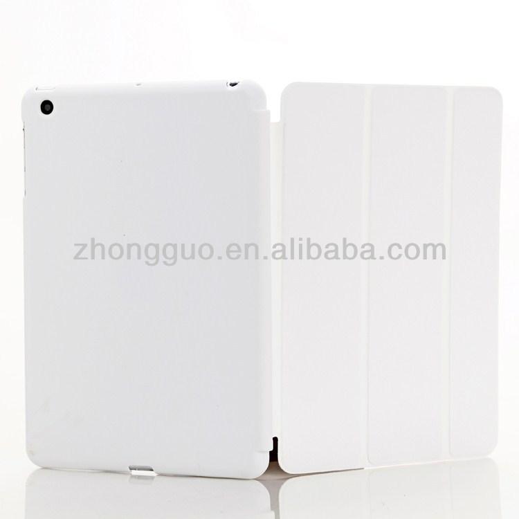 Hot back cover smart cover case for ipad mini retina
