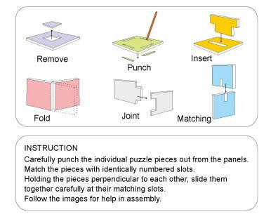 3D Puzzle 3D Transportation Puzzle Excavator engineering van