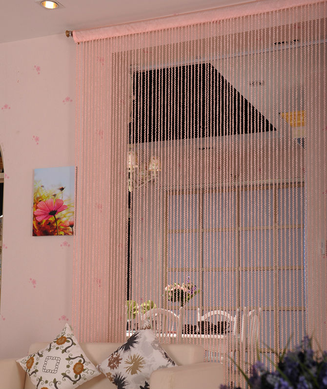string wall decoration curtain for home decor