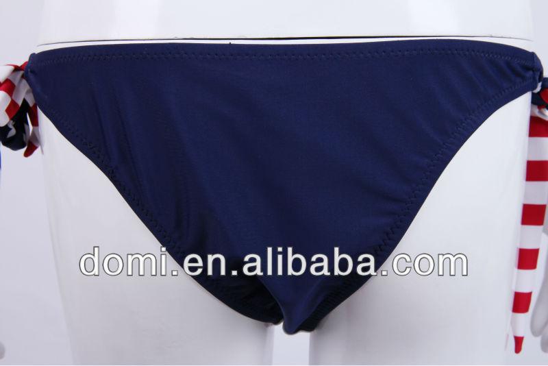 Sexy girl modest bandage monokini swimwear / eua bandeira bikini / biquíni bandeira