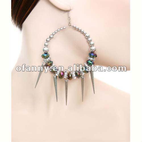 Мода всплеск костюмы ручной работы серьги ювелирные изделия с ювао beads