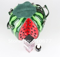 STOCK new brandBagbag park watermelon PU leather personality women's gift handbag evening/party bags lovely bags