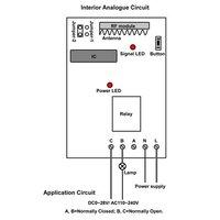 новая память функция 1 канал ch ac110v 315/433 МГц 100m беспроводной пульт дистанционного управления переключатель с 3 режимами