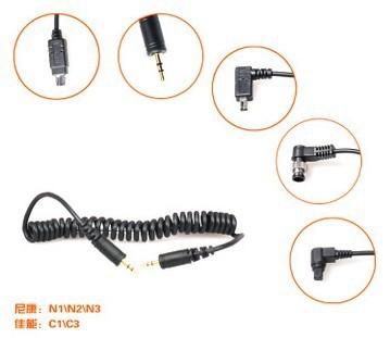 Дистанционный спуск затвора для фотокамеры LS-2.5/N3 Shutter Release Cable for RF-603 RF603II N2, fit Nikon D90 D7000 D5000 5100 D3100 D3200 D7100