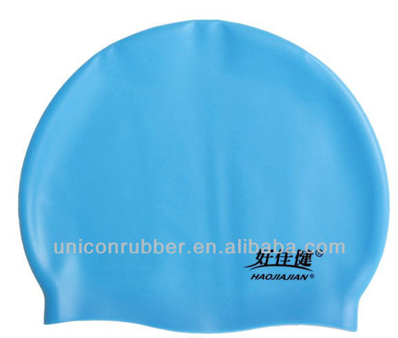 High quality silicone swim cap for adults and kids