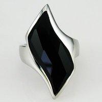 Кольцо stainless steel agate wedding rings woman fashion jewelry