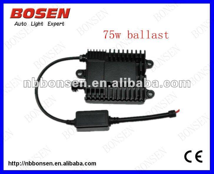 55w H4 Bi xenon Auto HID Kit, xenon kits super slim 55w ballast