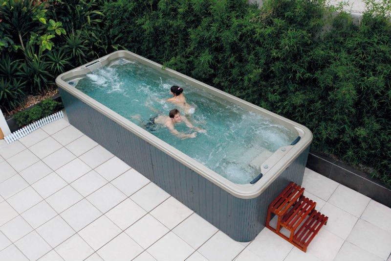 6 meter hot tub above ground pool swim spa view balboa - Precios jacuzzi exterior ...