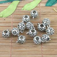 Разделители для браслетов alloy metal Tibetan silver hollow spacer bail connector fit bracelet h5135 20pc