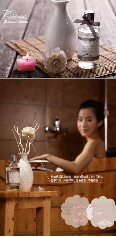 Incense air freshener rattan sticks Diffuser display
