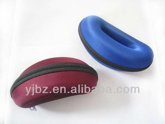 Nylon flower patterned eyeglasses case & bag