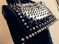 "Клепки для одежды 200PCS 10mm/0.4"" Silver Mushroom Spike Studs Rivet Studs Punk Bag Belt Leathercraft DIY Accessories"