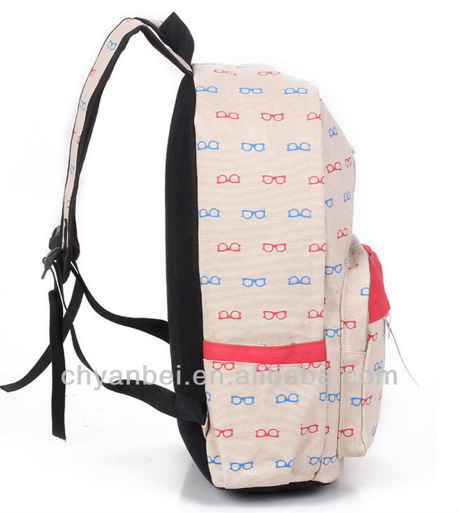 2013 popular fashion school backpacks for teenage girls