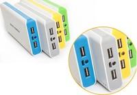 Зарядное устройство 20000mAh Power Bank Portable Power Charger External Backup Battery For Nokia Micro USB Samsung Mini USB For iPod iPhone