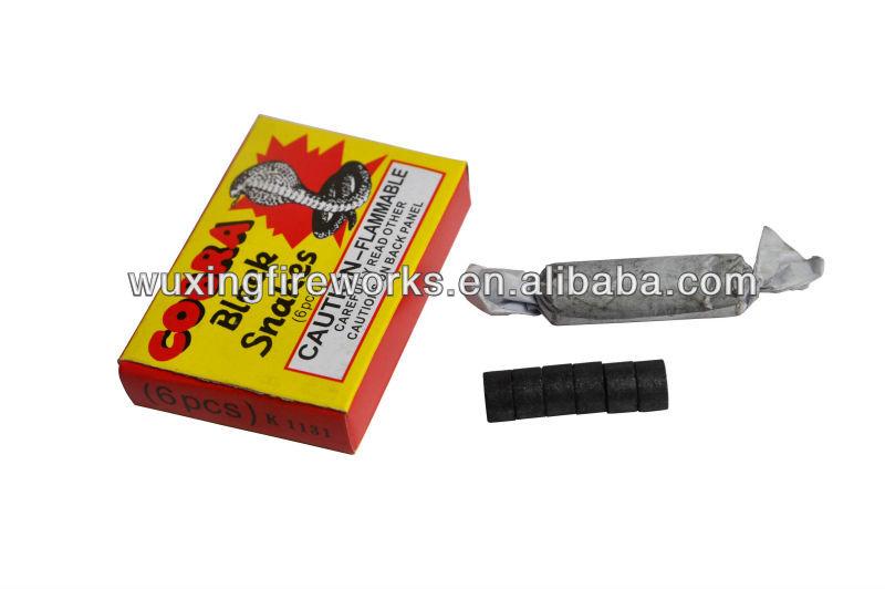 Cobra Black Snakes Fireworks Black Snakes Toy Fireworks