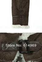 Fashion Deerskin Velvet Pile in Upset Handsome Cultivate One's Morality Short Fur Coat