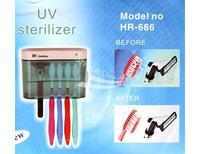 Дезинфектор для зубных щеток New UV Toothbrush Sanitizer Sterilizer / Holder / Cleaner Bathroom Box free shopping