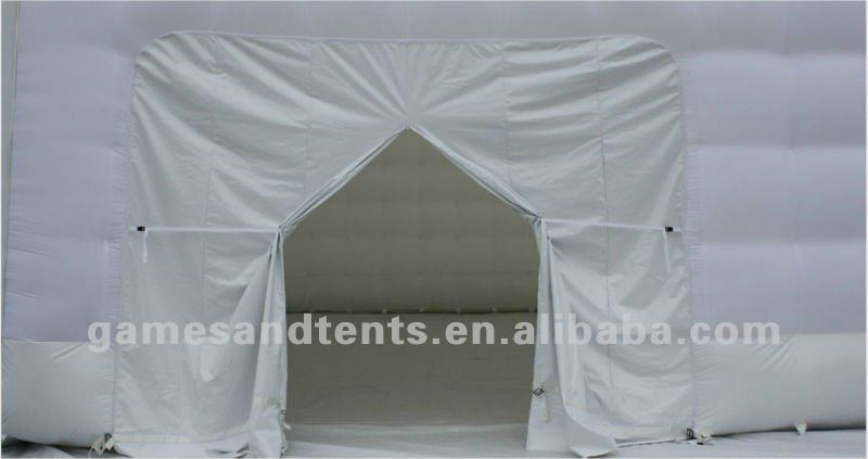 Big inflatable tent white color for weddings F4066