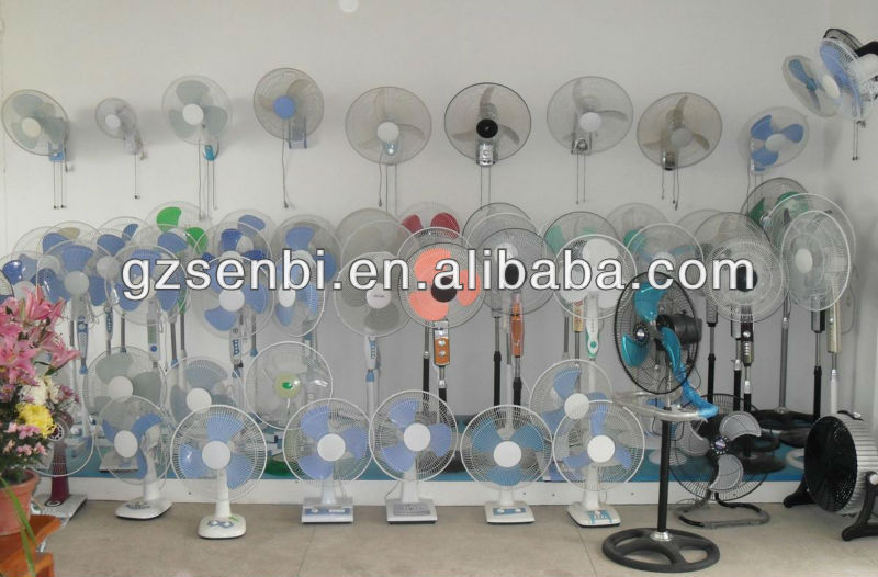 base can be opened 16 inch electric table fan