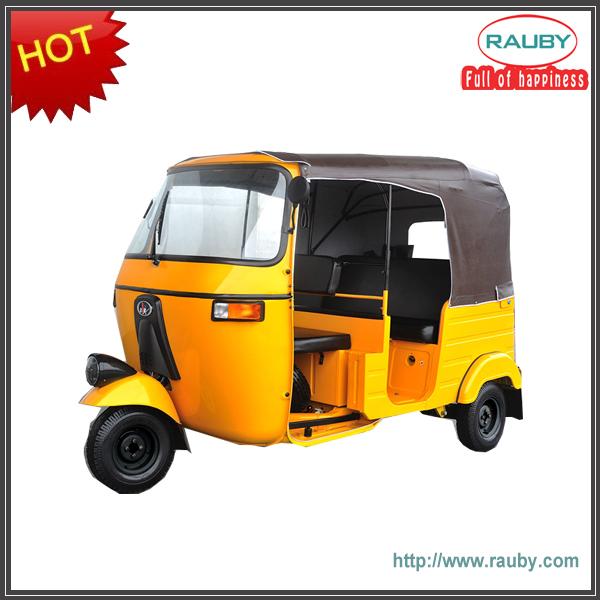 high quality Bajaj 200cc/three wheel motorcycle/electric auto rickshaw on sale