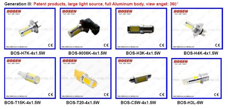 T15/921 5w high power Auto LED reverse light 2013 new hot selling
