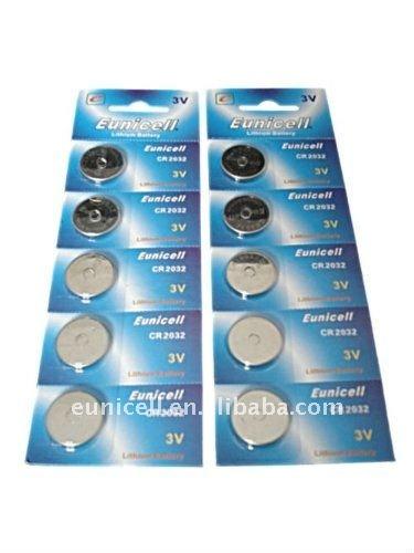 CR2032 battery high quality 3V Lithium battery CR2032