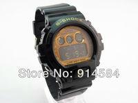 продаете! КОСС шок моды цифровые спортивные часы резиновый ремешок 10 цветов 6900