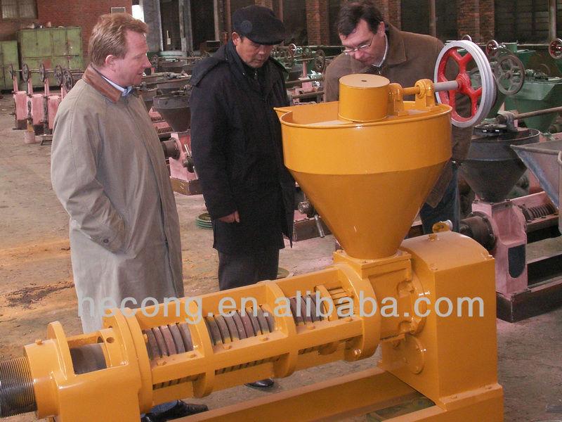 Coconut oil expeller machine