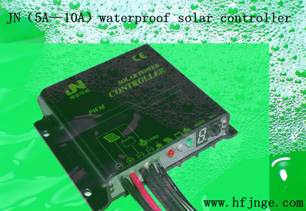 12V/24V Auto 5A-15A controller 2013 Hot Product! JN-W (5-10A) series waterproof model solar controller