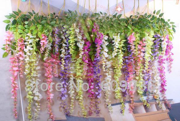 1pcs flower vine details as below picture: