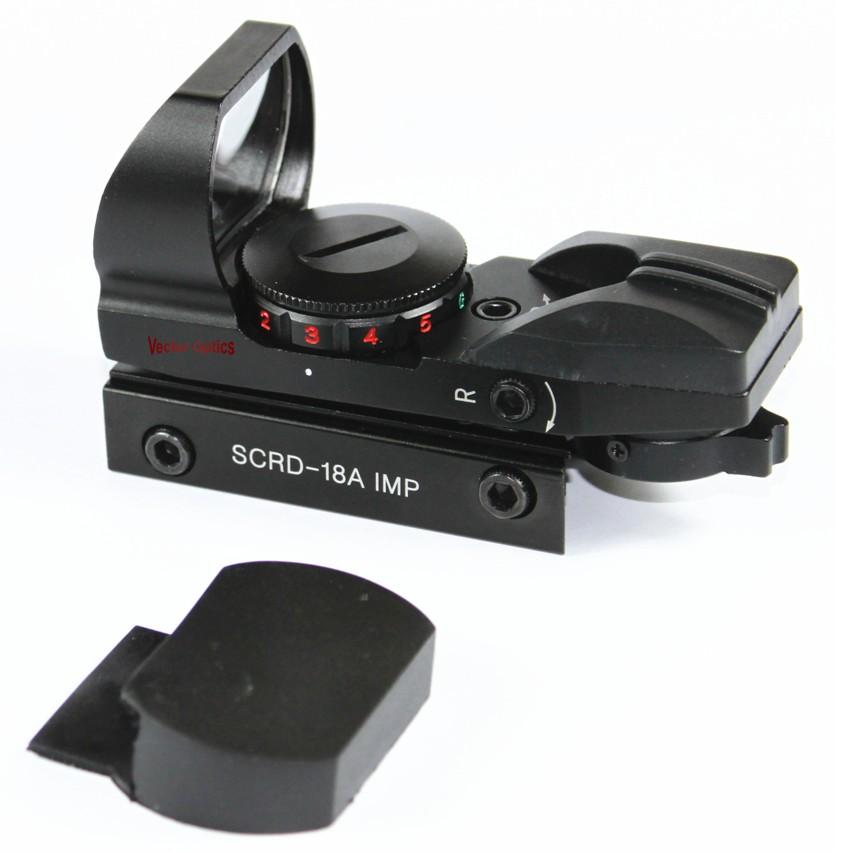 Vector Optics Imp 1x23x34 Multi Reticle Reflexible Sight Red Dot Scope