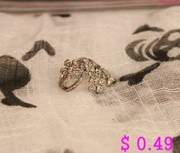 Кольцо Fashion Finger Ring.Metal Flower Ring Antique Ring 2 Colors Korean Style Kr032