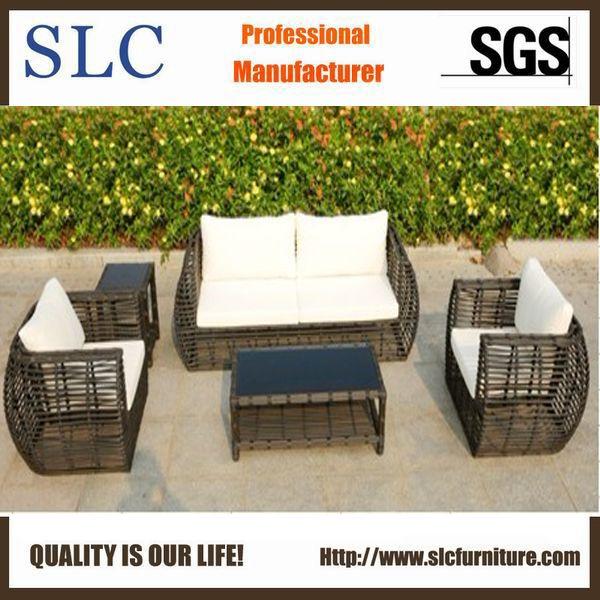 New Design Outdoor Rattan Sofa (SC-B8957-B)