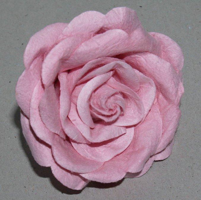 Como hacer flores con papel china imagui - Rosas chinas ...